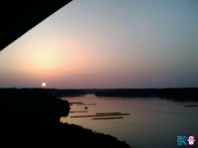 英虞湾の日の出