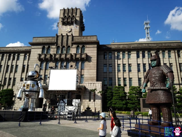 京都市役所前の鉄人(京都国際映画祭)