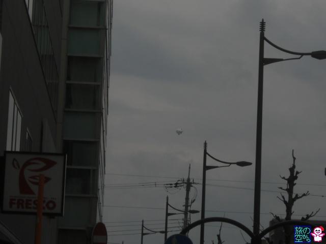 きょうも飛行船。