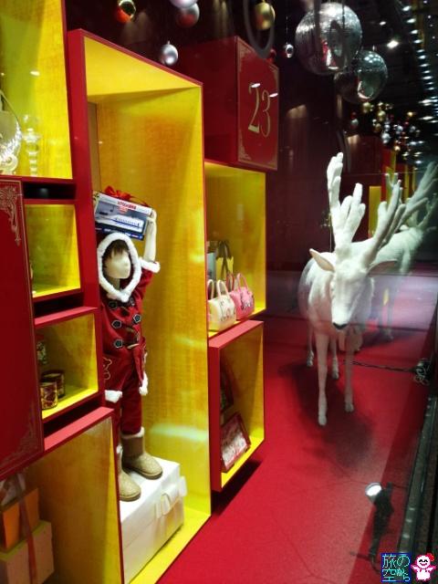 きょうのメリークリスマス(高島屋京都店、大丸京都店)