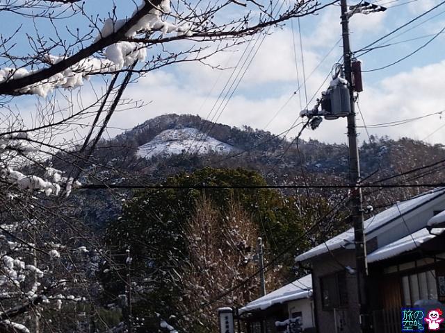 きょうの雪(銀閣寺とか)