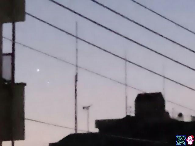 きょうの水星(と金星)