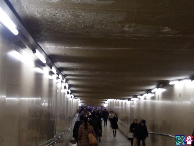 四条通東洞院地下道