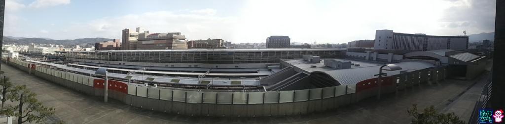 屋根の上の芝生(京都駅)