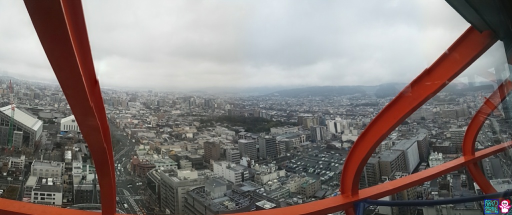 京都タワー階段のぼり2015・春(続)