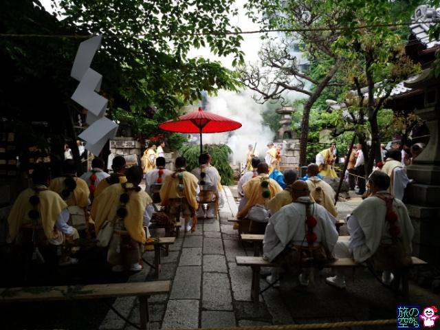 大護摩供養(菅大臣天満宮春期例祭)