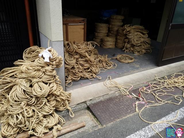 きょうの祇園祭(先祭山鉾建て二日目)