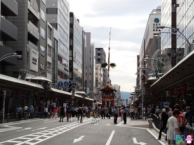 きょうの祇園祭(曳き初め初日)