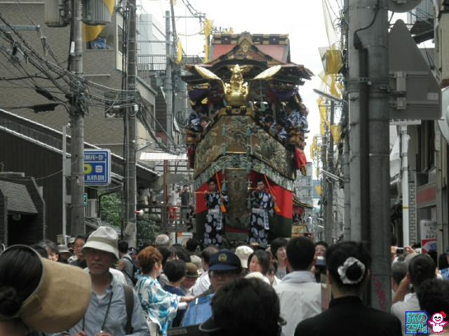 きょうの祇園祭(曳き初め二日目)