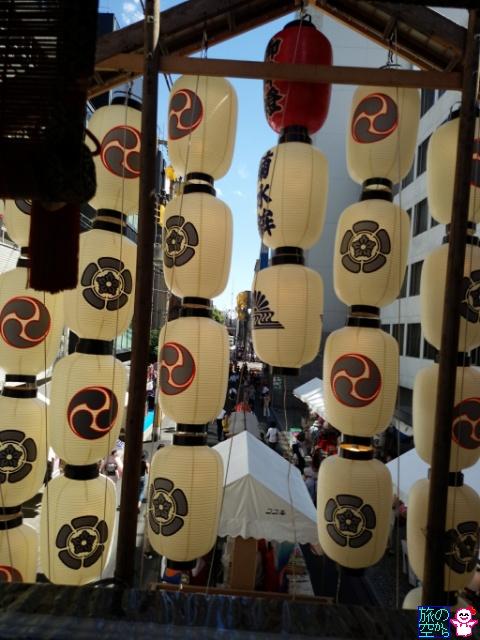 きょうの祇園祭(宵々々山)