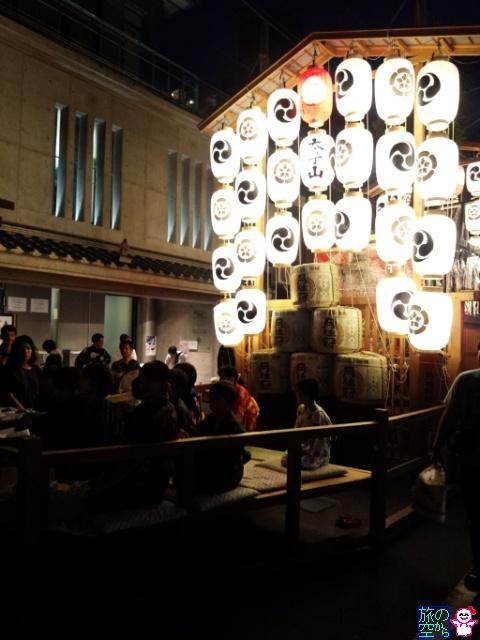 きょうの祇園祭(宵々山と言うか宵山二日目)