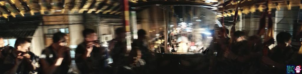きょうの祇園祭(宵山やってた)