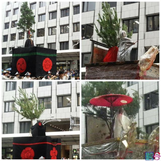 きょうの祇園祭(神様の雨対策)
