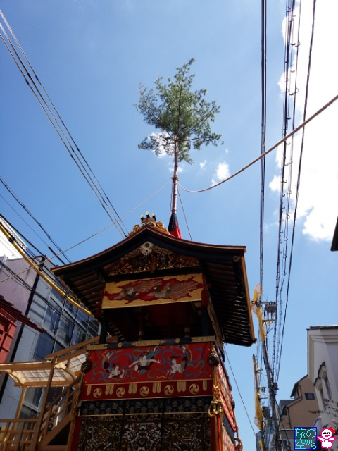 きょうの祇園祭(山鉾建て&曳き初め(後祭))