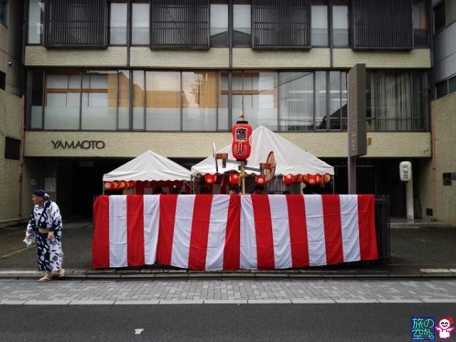 きょうの祇園祭(宵山二日目(後祭)、鷹山復活へ)