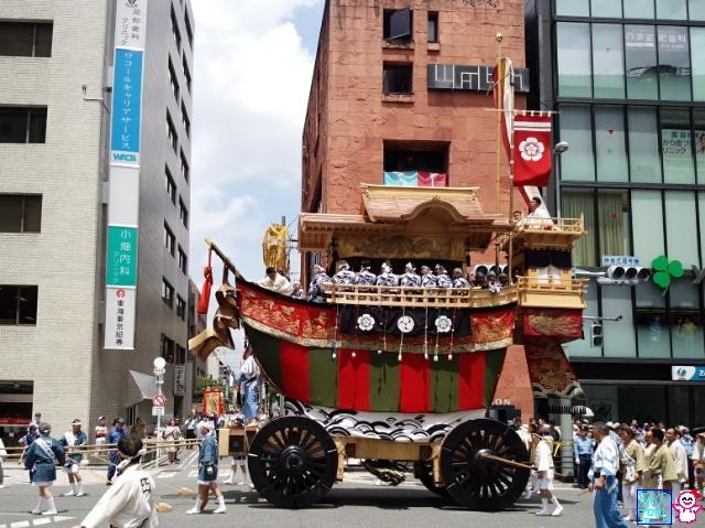 きょうの祇園祭(山鉾巡行(後祭))
