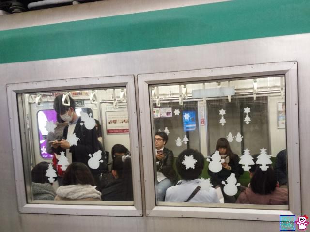 きょうのメリークリスマス(京都市営地下鉄)