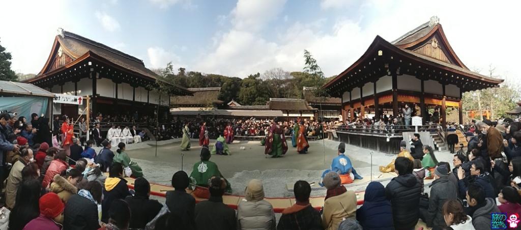蹴鞠はじめ(下鴨神社)
