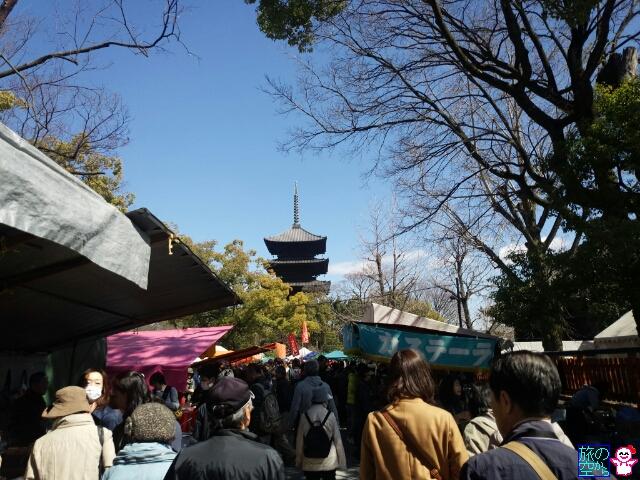 弘法さん(東寺)