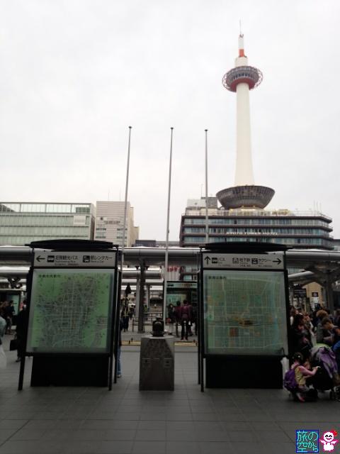 京都鉄道博物館モニュメント(京都駅前)
