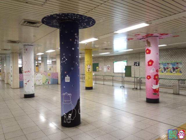 エキナカアートプロジェクト(五条駅)