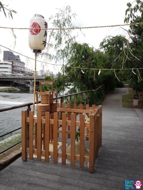 きょうの祇園祭(御用水)