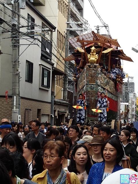 きょうの祇園祭(曳き初めその2)
