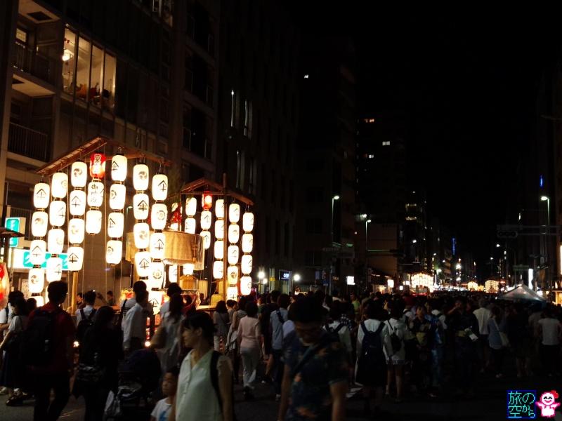 きょうの祇園祭(宵々山)