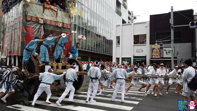 きょうの祇園祭(山鉾巡行)
