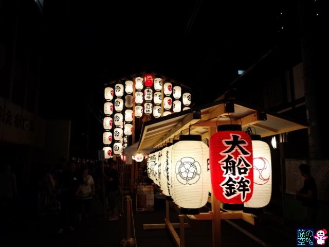 きょうの祇園祭(宵々々々山?)