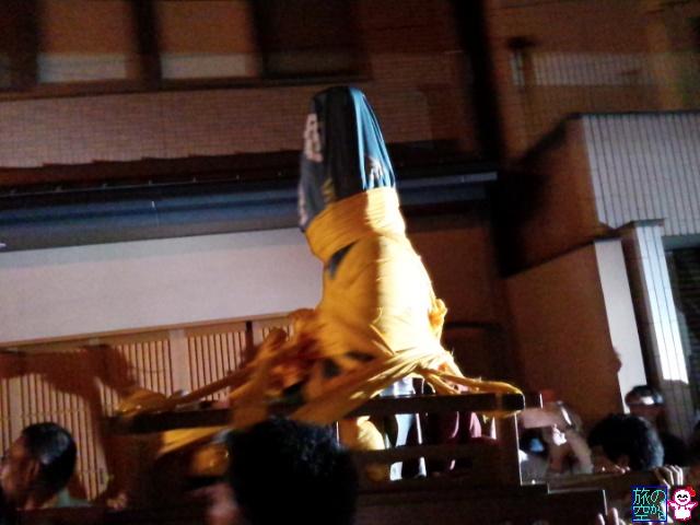 きょうの祇園祭(後祭宵山と言うか暴れ観音)