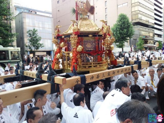 きょうの祇園祭(還幸祭)