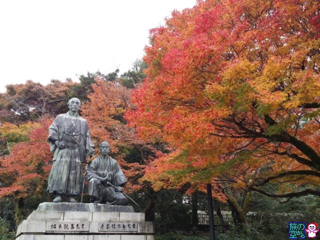 きょうの紅葉(円山公園)