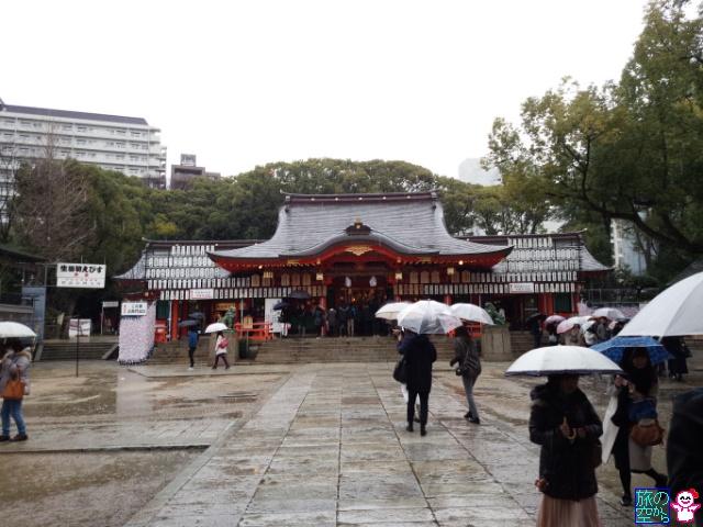 初詣(生田神社)