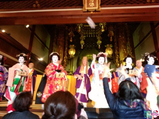 節分会(誓願寺、八坂神社、フレスコ)