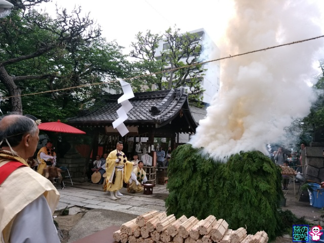 菅大臣天満宮春期例大祭2017(大護摩供養)