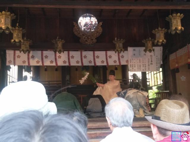 菅大臣天満宮春期例大祭2017(狂言奉納)