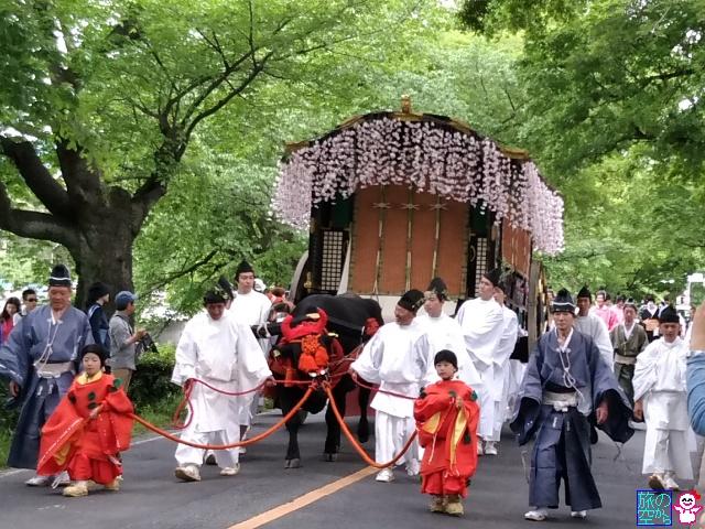 葵祭2017(加茂街道)