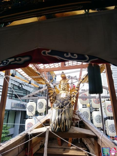 きょうの祇園祭(宵山初日)