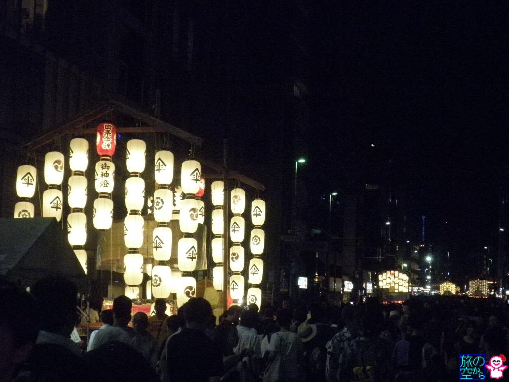 きょうの祇園祭(宵山二日目)