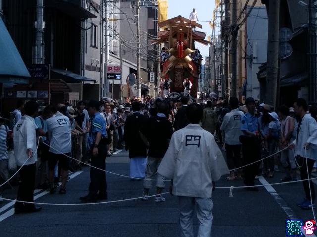 きょうの祇園祭(後祭曳き初め)
