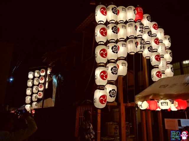 きょうの祇園祭(後祭山鉾建て、曳き初め、宵山)