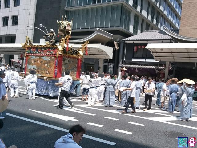 きょうの祇園祭(後祭山鉾巡行、還幸祭)